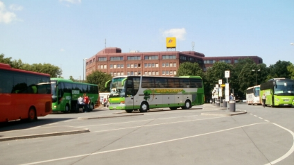 Dortmund Bus Station at the Railway Station
