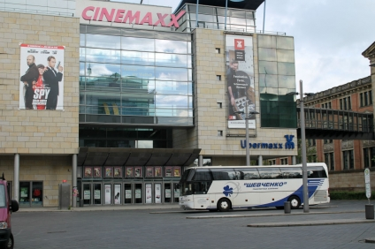 Bremen Bus Station at the Railway Station